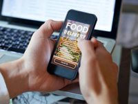 Restaurants, der durch Covid bedingte starke Trend zu Apps für Bestellungen und Take-away
